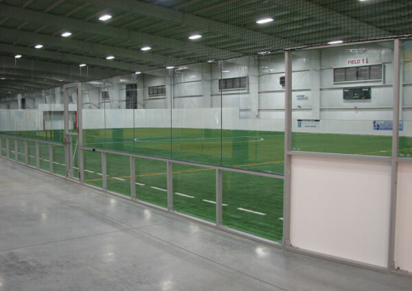 Boarded Arena