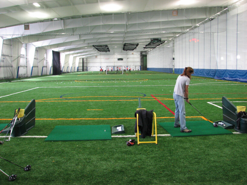 Multi Bay Indoor State Of The Art Golf Driving Range