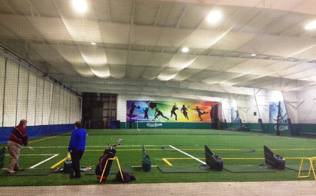 Multi Bay Indoor State Of The Art Golf Driving Range Norfolk